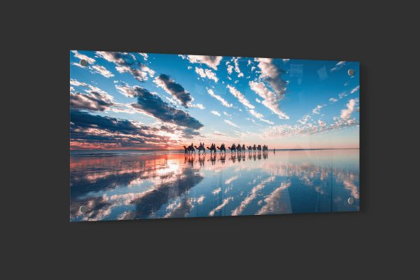 cable beach reflections acrylic