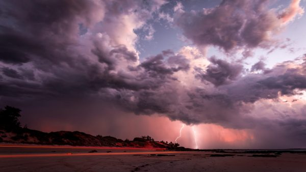 Storm over Cable Beach