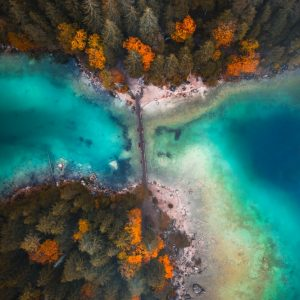 Eibsee autumn
