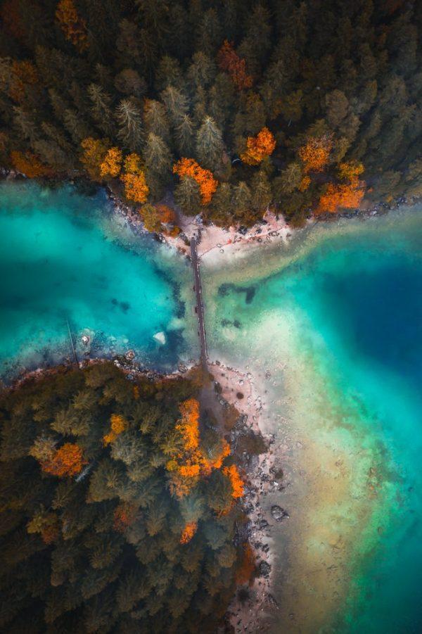 Eibsee autumn