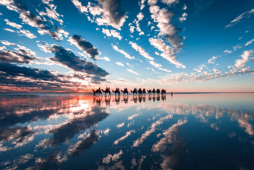 blue camels cable beach