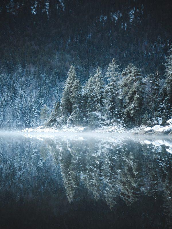 Eibsee Reflection