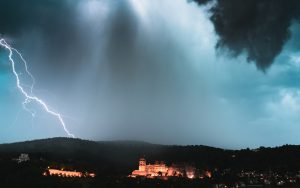 castle in the storm