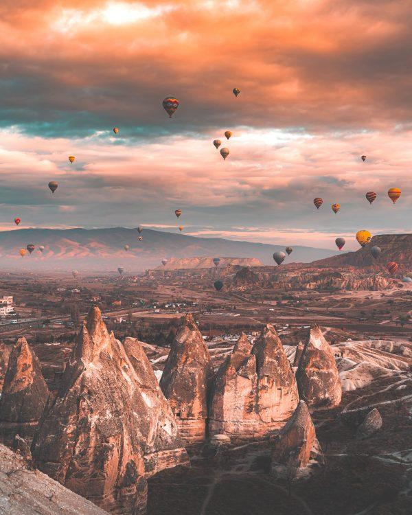 cappadocia dawn