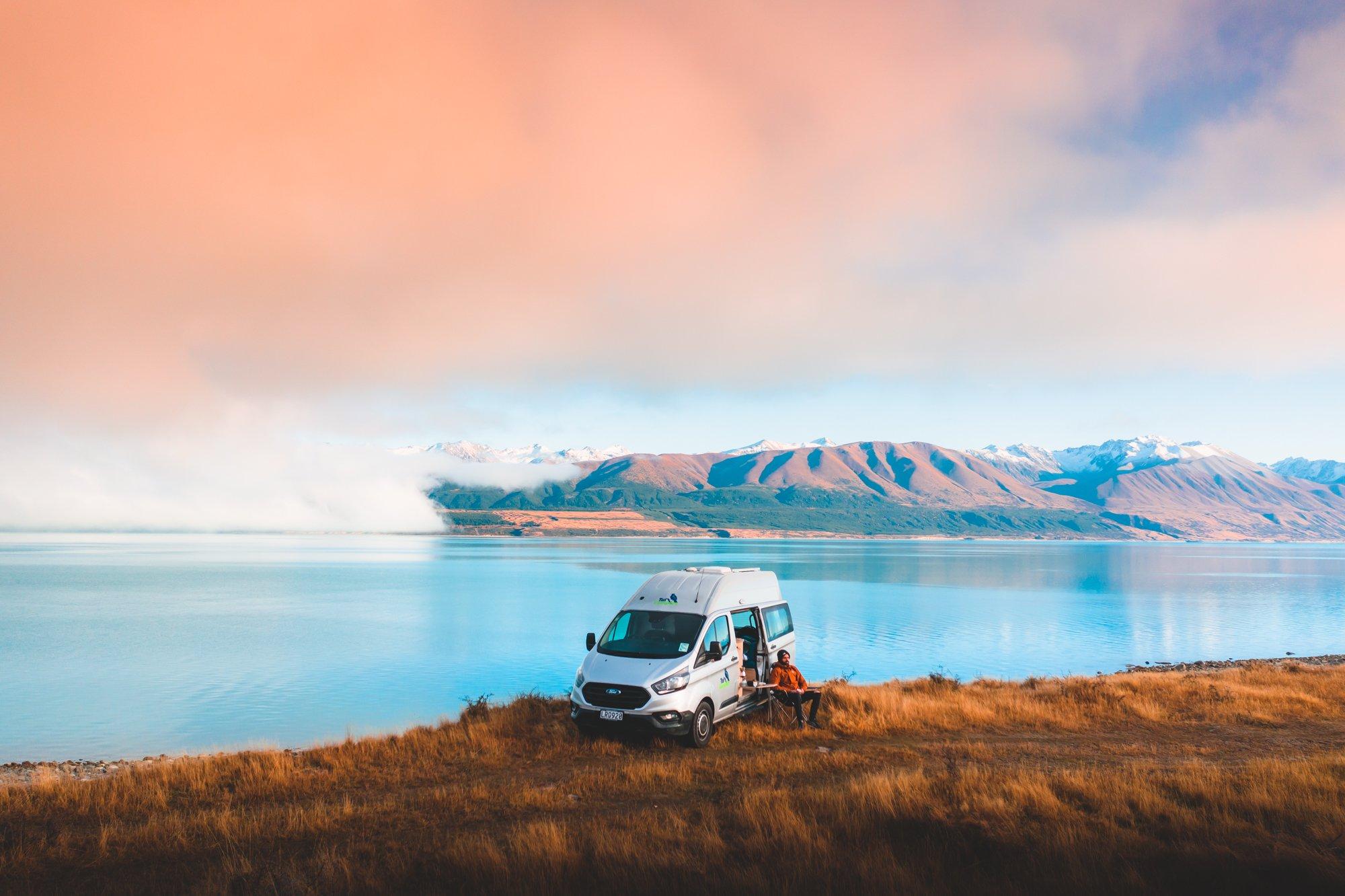 Lake Pukaki Freedom Camping