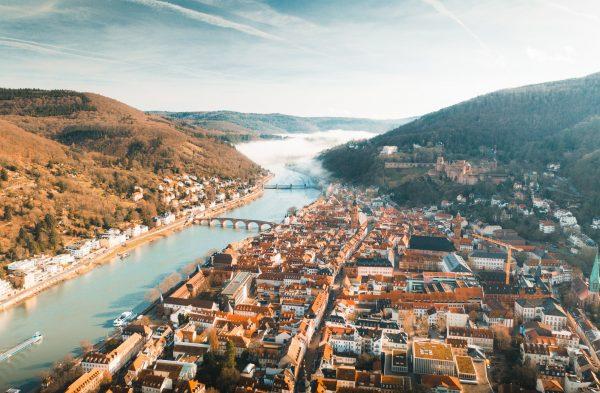 heidelberg old town 2022 calnder