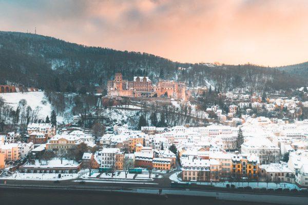 heidelberg castle snow 2022 calendar